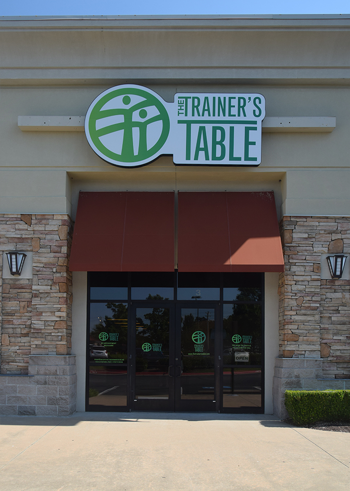 The Trainer's Table at The Shoppes at Har-Ber 7058 West Sunset Avenue, Springdale AR 72762